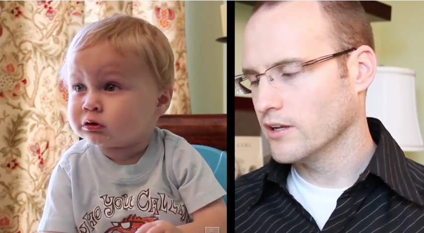 This Guy Interviewed His 1 Year Old and Subtitled the Entire Thing – Now You Know What Kids Think About All Day