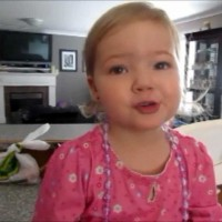 2 Year Old Girl Sings Adele and It's The Cutest Thing You'll See All Day