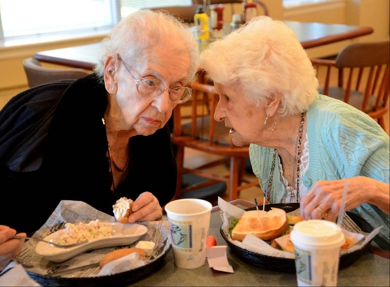 Two Women Share Secrets Of Friendship. You Wouldn't Believe How Long They've Been Friends!