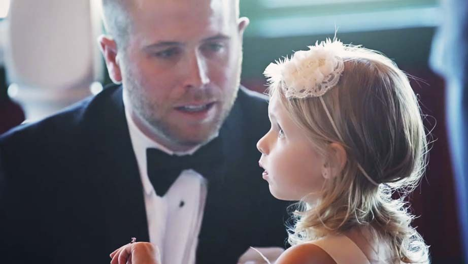 They Wrote Their Vows, But When He Turned To Her Daughter, Everyone Cried