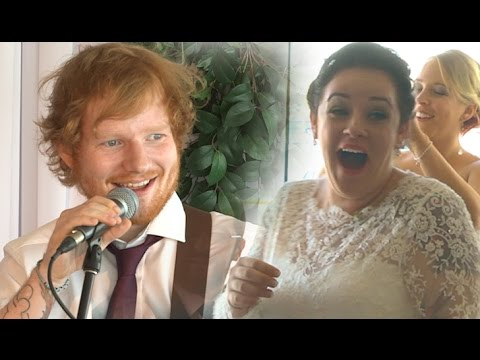 Ed Sheeran Surprises Couple At Their Wedding, But That's Just One Part Of The Story