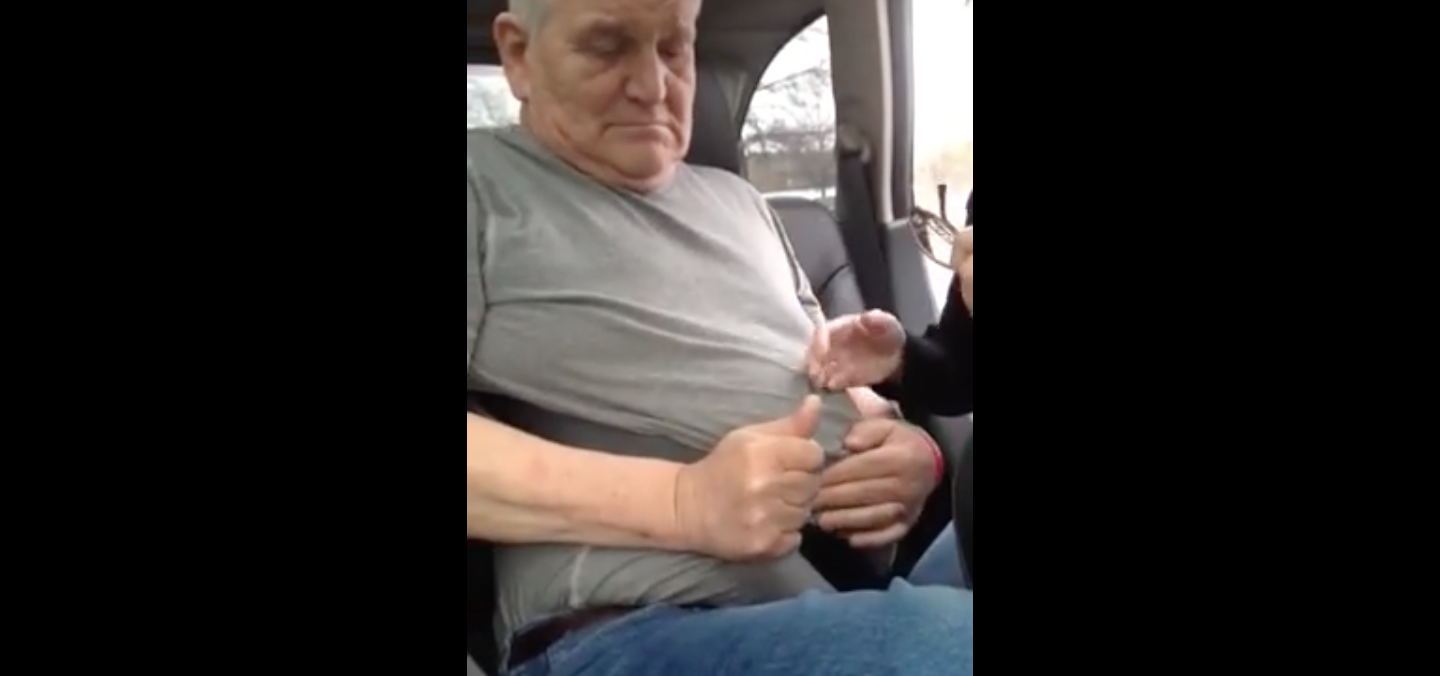 Grandpa Clint Chadbourne Gets Stuck And It Couldn't Be More Hilarious! OMG!