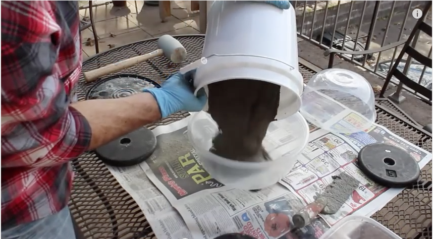 He Poured Concrete Into a Plastic Bowl…When I Saw Why I Was Amazed Why