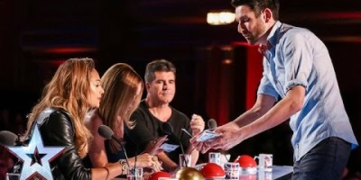Jamie Raven Asked The Judges To Watch The Screen. The Results Dropped Simon Cowell's Jaw. Just OMG.