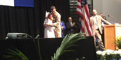Soldier Surprises His Sister At Her 2015 High School Graduation