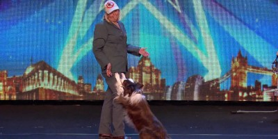 A Dog Catcher And A Dog On Britain's Got Talent Will Teach You An Important Lesson! Simon Cowell Agrees Too!