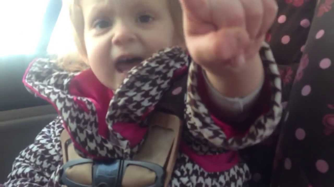 Little Girl Is Stuck In Her Seat, But When Daddy Comes To Help, She Gives Him A Hilarious Advice!