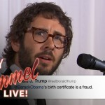 WATCH: As Josh Groban Sings Like An Angel…The Tweets of Donald Trump
