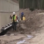 Construction Worker Goes About His Day. But When He Turns The Corner? OMG
