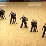 Dancers Form A Line On The Dance Floor, But When They Separate? OMG!
