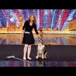 She Takes The Stage With Her Dog And A Broom. Nobody Was Expecting THIS!