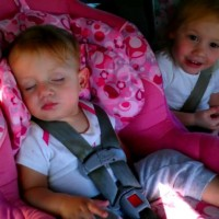 Father and Sister Play Joke On This Sleeping Baby – This Was Her Reaction