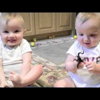 Twins Mimic Their Father's Sneeze Perfectly, So Cute