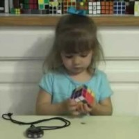 They Gave The 3 Year Old Emmy A Rubik's Cube, She Gave It Back To Them In Less Than 3 Minutes. #JawDropped!