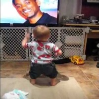 This Baby's Favorite Song Starts Playing. See What He Does To Make Sure He's Not Disturbed! LOL