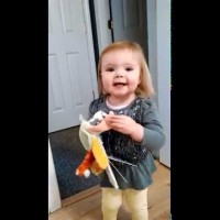 Josie, A 23 Months Old Toddler Sings A Classic Version Of Old McDonald's Farm! Just Adorable!