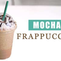 Want To Make Starbucks' Secret Recipe? Here's Mocha Frappuccino In Just 3 Minutes!