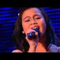 11 Year Old Girl Walks Up On Stage, But Look At Everyone's Expressions When She Sings!